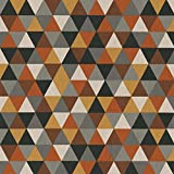 Hans-Textil-Shop Stoff Meterware Dreiecke Triangle - Deko,