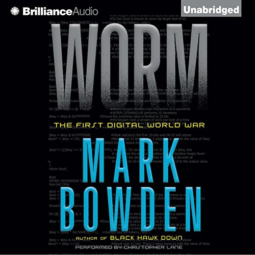 Worm audiobook cover art