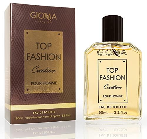 Top Fashion Creation Eau De Toilette Intense 95 ml, Imitaciones Perfumes Hombre. Equivalente Compatibile con Tomm Ford Tobacco Vanille Hombre