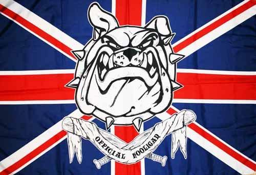 AZ FLAG Flagge Official Hooligan Vereinigtes KÖNIGREICH 150x90cm - BRITISCHE Fahne 90 x 150 cm - flaggen Top Qualität