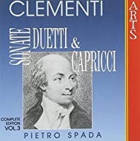 Complete Sonatas Duets & Caprices 3 by PIETRO SPADA (1996-12-17)