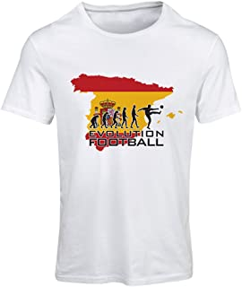 lepni.me N4497F T Shirts for Women Evolution Football - Spain