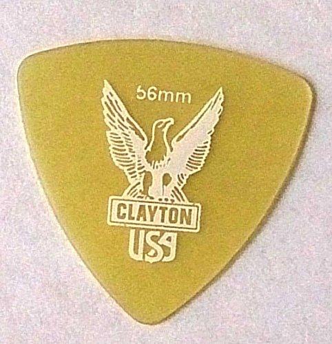 クレイトン ピック ULTEM PICKS 丸肩トライアングル (0.56mm)