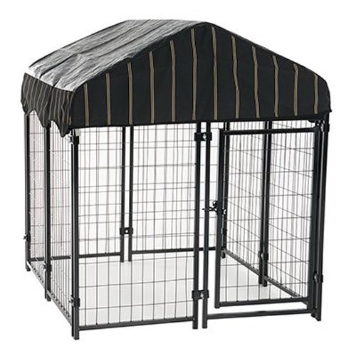 Lucky Dog - Pet Resort Heavy Duty Dog Outdoor Playpen with Water-Resistant Cover, 54'H x 4'W x 4'L