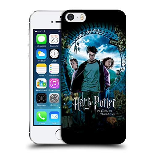 Ufficiale Harry Potter Ron, Harry & Hermione Poster Prisoner of Azkaban IV Cover Dura per Parte Posteriore Compatibile con Apple iPhone 5 / iPhone 5s / iPhone SE 2016
