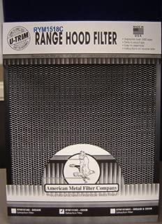 Universal Carbon Range Hood Filter - trim-to-fit