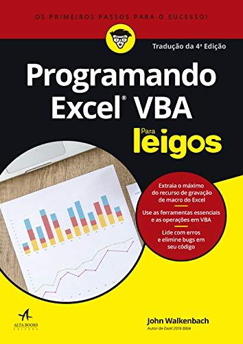 Programando Excel VBA Para Leigos: Tradução 4ª edição