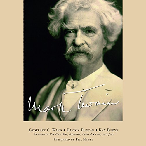 Mark Twain audiobook cover art
