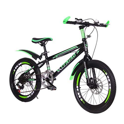 Bicicleta Bicicleta De Montaña Carretera Adulto Hombre Mujer Acero Alto Carbono Specialized Velocidad Ajustable Freno úNico Bicicleta (24 Pulgadas)
