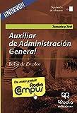 Auxiliar de Administración General de la Diputación de Albacete. Temario y Test. Bolsa de Empleo