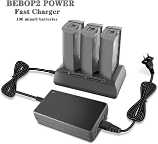 Hanatora Ultra-Fast 3 in 1 Balance Charger Intelligent Battery Charger Compatible with Parrot Bebop 2 POERR Drone Battery