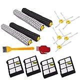 ADUCI 1 Juego Principal Cepillo Giratorio Filtro Hepa Side Kit del Cepillo for Roomba Serie 800 900 870 880 980 Piezas de Robot aspiradora