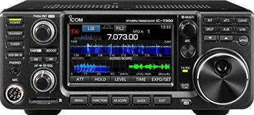 ICOM 7300 02 Direct Sampling Shortwave Radio Black