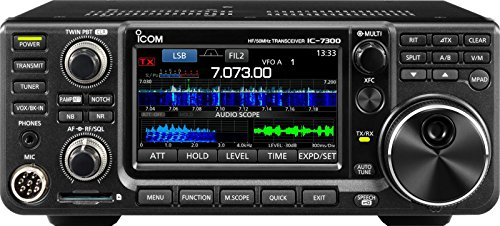 ICOM 7300 02 Direct Sampling Ham Radio Base Station