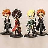 XYBHD 15cm Figuras de Anime Modelo de Personaje Material de PVC Imagen estática Estatua Coleccionables/Adornos Decoración de Escritorio Regalos Mejor colección de Regalos Juguete 4 unids/Set