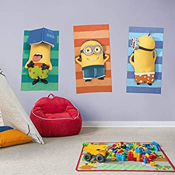 Minions  Sunbathing Collection - Officially Licensed Removable Wall Decal