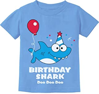 Baby Shark Doo doo doo First/2nd Birthday Shark Outfit Infant Kids T-Shirt