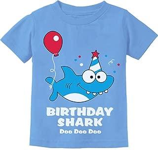 Baby Shark Doo doo doo First/2nd Birthday Shark Outfit Infant Kids T-Shirt