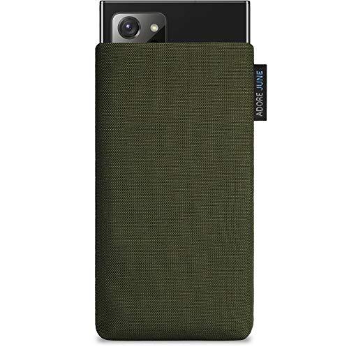 Adore June Funda para Samsung Galaxy Note 20 Ultra, Fabricad