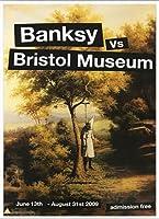 ポスター バンクシー basnksy bristol Hanging Klansman 2009 額装品 アルミ製ベーシックフレーム(ホワイト)