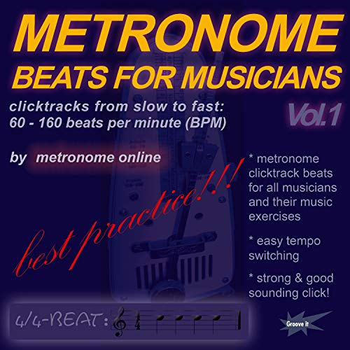 Metronome Beats For Musicians - Clicktracks From Slow To Fast: 60 - 160 Beats Per Minute (Bpm) [feat. Taktell]