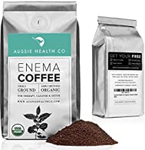 AUSSIE HEALTH CO 419° Roasted Organic Enema Coffee - Cleanse and Detoxify with 100% USDA Certified Organic, Pre-Ground Arabica Beans, Made in Seattle - 1 Pound Bag