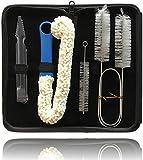 Sunglow Shisha Limpieza Limpieza de la Cachimba para Cuenco Válvulas Manguera Tubo Cepillo y Kohlezange Incluido Estuche