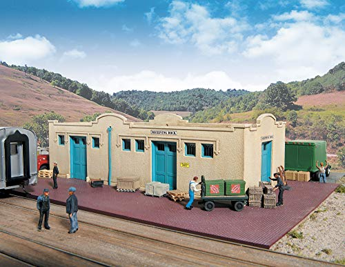 Walthers Cornerstone Series Kit HO Scale Mission-Style Freight House