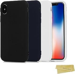 0b55c57b167 Mavis's Diary iPhone X Case, Funda Silicona Slim Mate [3 Pack] Carcasa Ultra