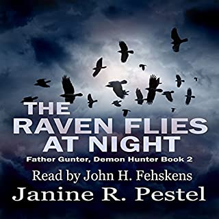 The Raven Flies at Night audiobook cover art