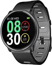 Large Round Color Screen smartwatches Fitness Tracker Waterproof Smartwatch Blood Pressure Monitor watch Android Phones Heart Rate Pedometer Smart Watch