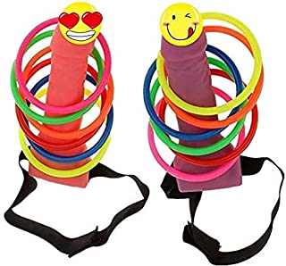 The Only One 2 Pcs Bachelorette Party Games Headband Head Ring Toss Game Set for Girls Night Out Party Games