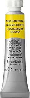 Winsor & Newton Professional Water Colour Paint, 5ml tube, New Gamboge