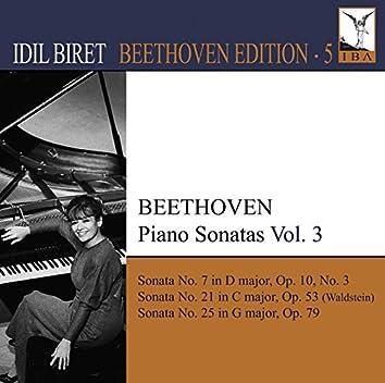 Beethoven, L. Van: Piano Sonatas, Vol. 3 (Biret) - Nos. 7, 21, 25