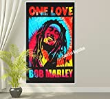 Tie-Dye Music Tapestry Indian Wall Hanging Hippie Decor Bohemian Bedding Single Boho Picnic Throw Gypsy Beach Blanket One Love Reggae Tapestries By Colors Of Rajasthan
