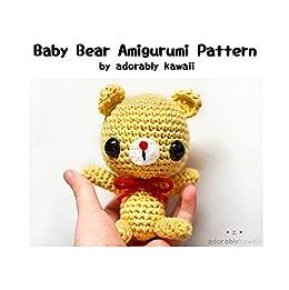 Baby Wolf Amigurumi Crochet Pattern (English Edition) eBook ... | 261x260