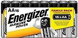 Energizer Alkaline Power - Pack de 16 pilas Alcalinas AA/LR06