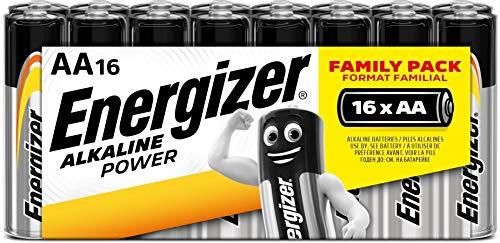 Oferta de Energizer Alkaline Power - Pack de 16 pilas Alcalinas AA/LR06