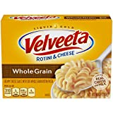 Velveeta Whole Grain Rotini & Cheese Dinner (10oz Boxes, Pack of 12)