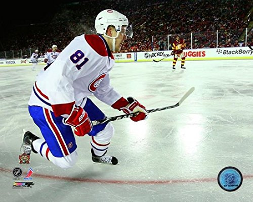 The Poster Corp Lars Eller 2011 NHL Heritage Classic Action Photo Print (20,32 x 25,40 cm)