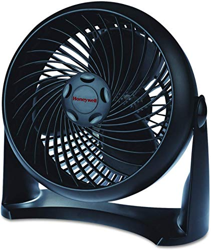 Honeywell HT-900 TurboForce Air Circulator Fan Black - 2 Pack (2) (2)