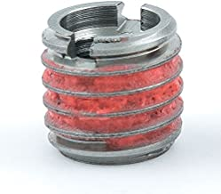 E-Z Lok Externally Threaded Insert, 303 Stainless Steel/Metric, M6-1.0 Internal Threads, 3/8