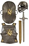 Child's Medieval Knight Armour Set - Helmet, Sword, Shield, Breast...