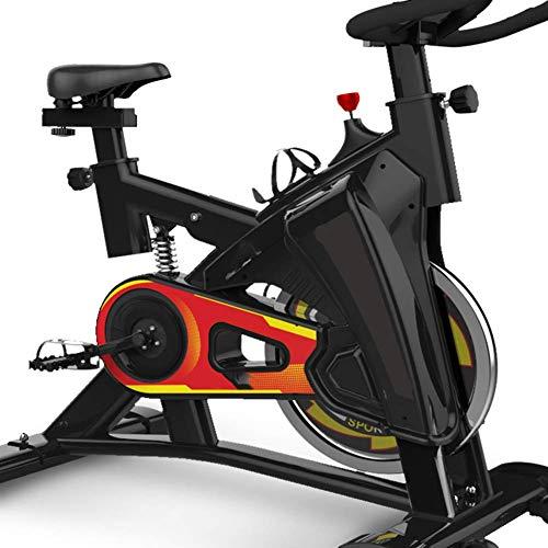 YLJYJ HLEZ Indoor Cycling Bike, Display LCD stazionari per Spin Bike fluidi e silenziosi Completamente Regolabili con Computer di Bordo Multifunzionale