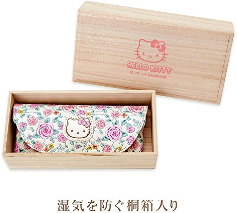 Hello Kitty Asakusa Bunko leather glasses case