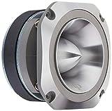 Audiopipe 400W MAX Aluminum Tweeter(Sold Each) Diamond Chrome Cutting Finish, Black
