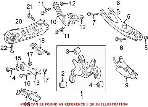 Genuine OEM Rear Popular product Left Radius Arm Trust 2423500300 Mercedes for