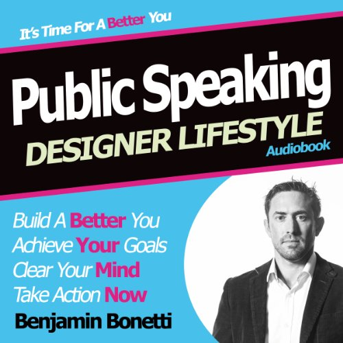 Designer Lifestyle - Public Speaking audiobook cover art