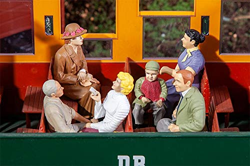 POLA 331502 Seated Passengers (6) Figure Set