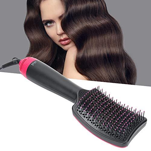 Peine secador de pelo de 700 vatios, cepillo multifuncional para secador de pelo doméstico, cepillo para alisar el cabello de doble uso seco y húmedo Secador de pelo y moldeador perfecto para(yo)
